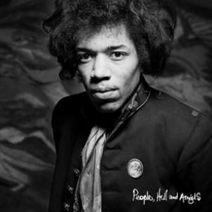 Jimi Hendrix People, Hell and Angels album cover