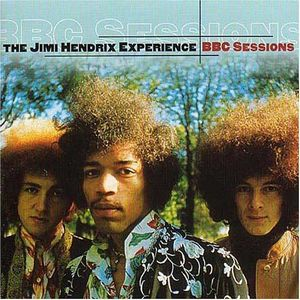 Jimi Hendrix BBC Sessions album cover