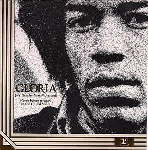 Jimi Hendrix Gloria album cover