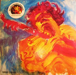 The Jimi Hendrix Concerts by HENDRIX, JIMI album cover