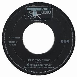 Jimi Hendrix - Crosstown Traffic CD (album) cover