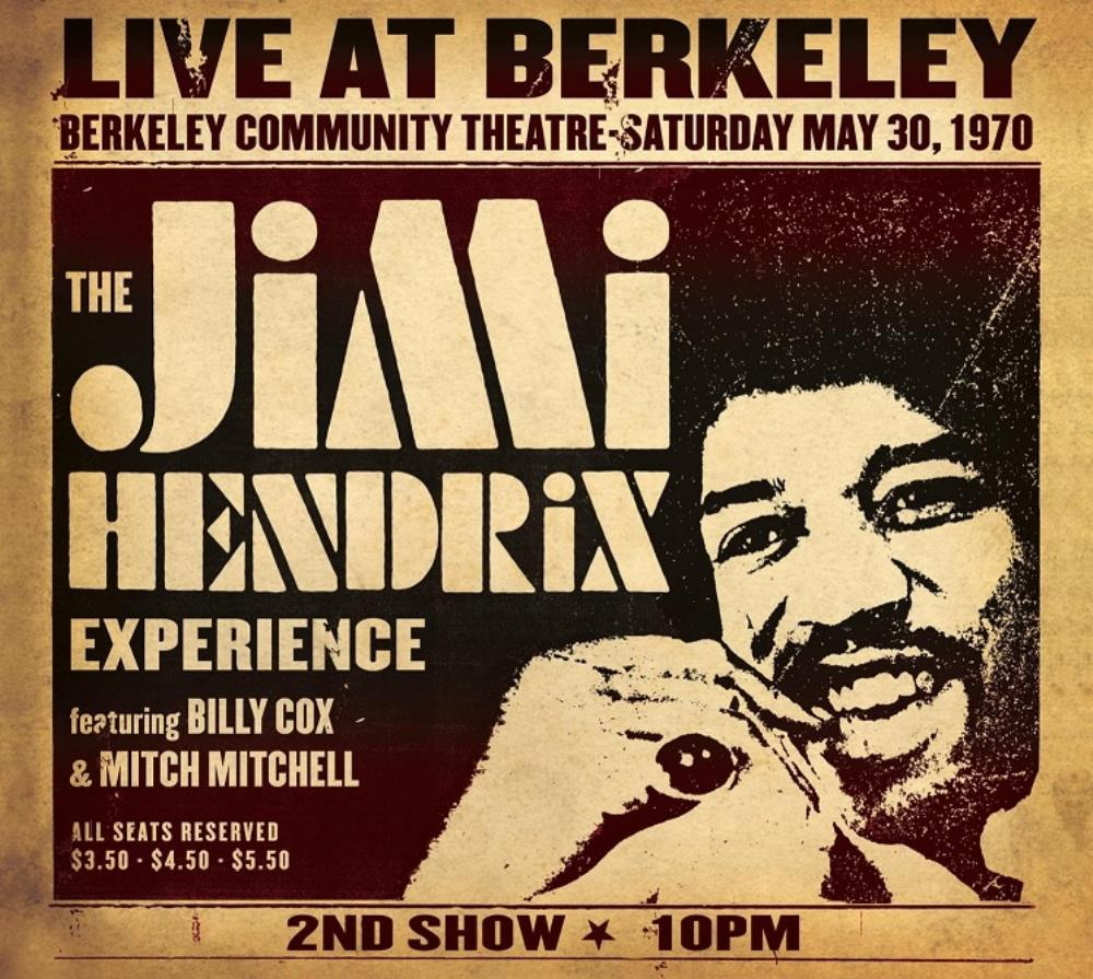 Jimi Hendrix Live At Berkeley album cover