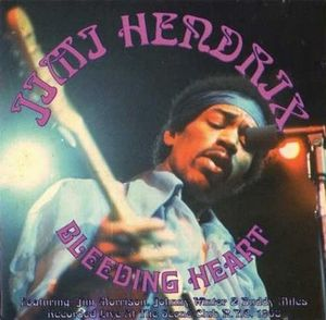 Jimi Hendrix Bleeding Heart album cover
