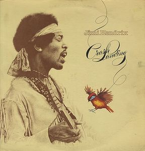 Jimi Hendrix Crash Landing album cover