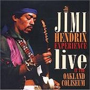 Jimi Hendrix Live at the Oakland Coliseum album cover