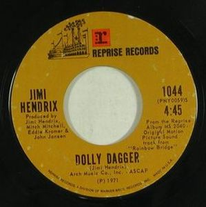Jimi Hendrix Dolly Dagger album cover