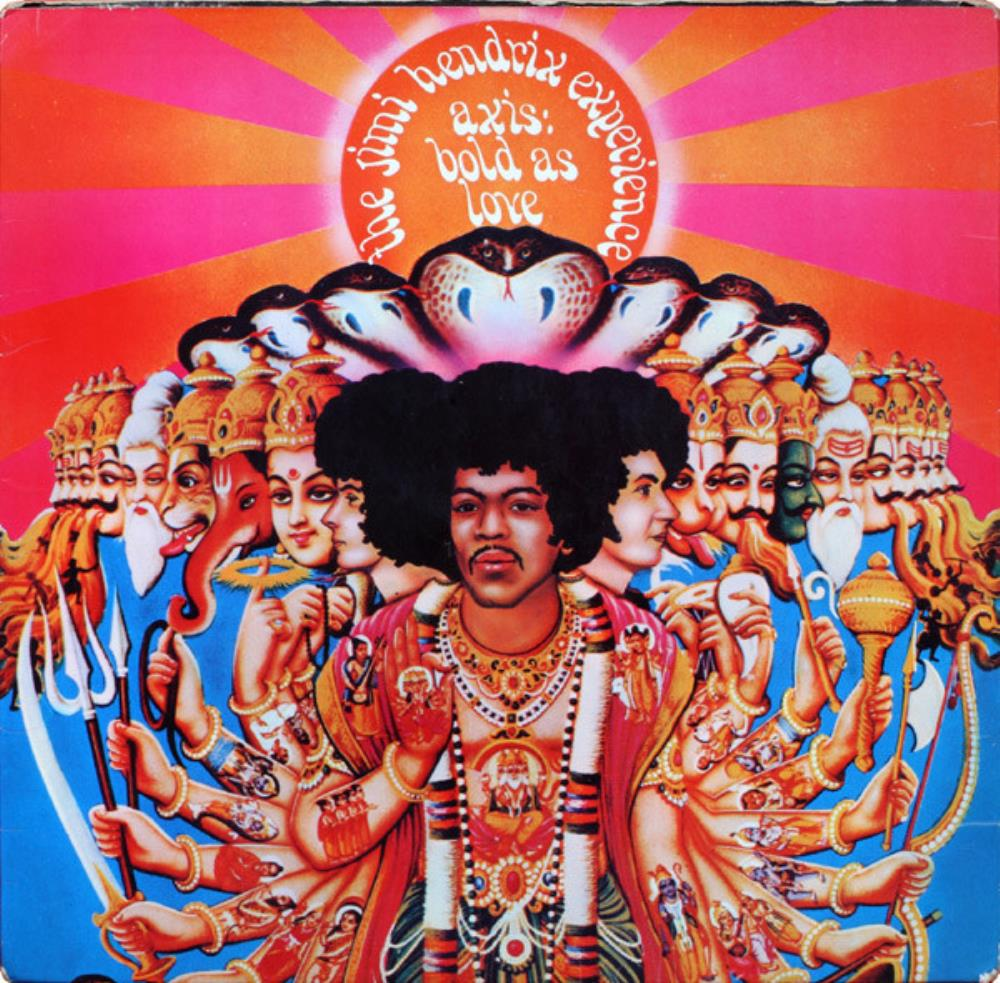 Jimi Hendrix The Jimi Hendrix Experience: Axis - Bold As Love album cover