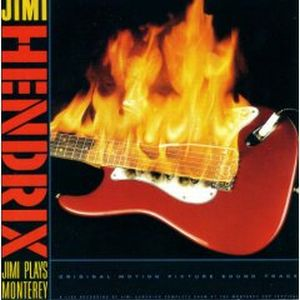 Jimi Hendrix - Jimi Plays Monterey CD (album) cover