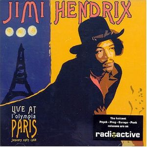 Jimi Hendrix - Live At L'Olympia, Paris CD (album) cover