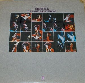 Jimi Hendrix - Historic Performances Recorded at the Monterey International Pop Festival (Hendrix & Otis Redding) CD (album) cover