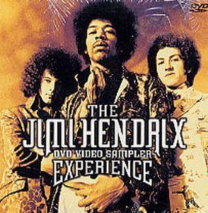 Jimi Hendrix The Jimi Hendrix Experience - DVD Video Sampler album cover