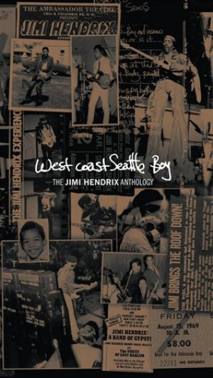 Jimi Hendrix - West Coast Seatle Boy - The Jimi Hendrix Anthology CD (album) cover