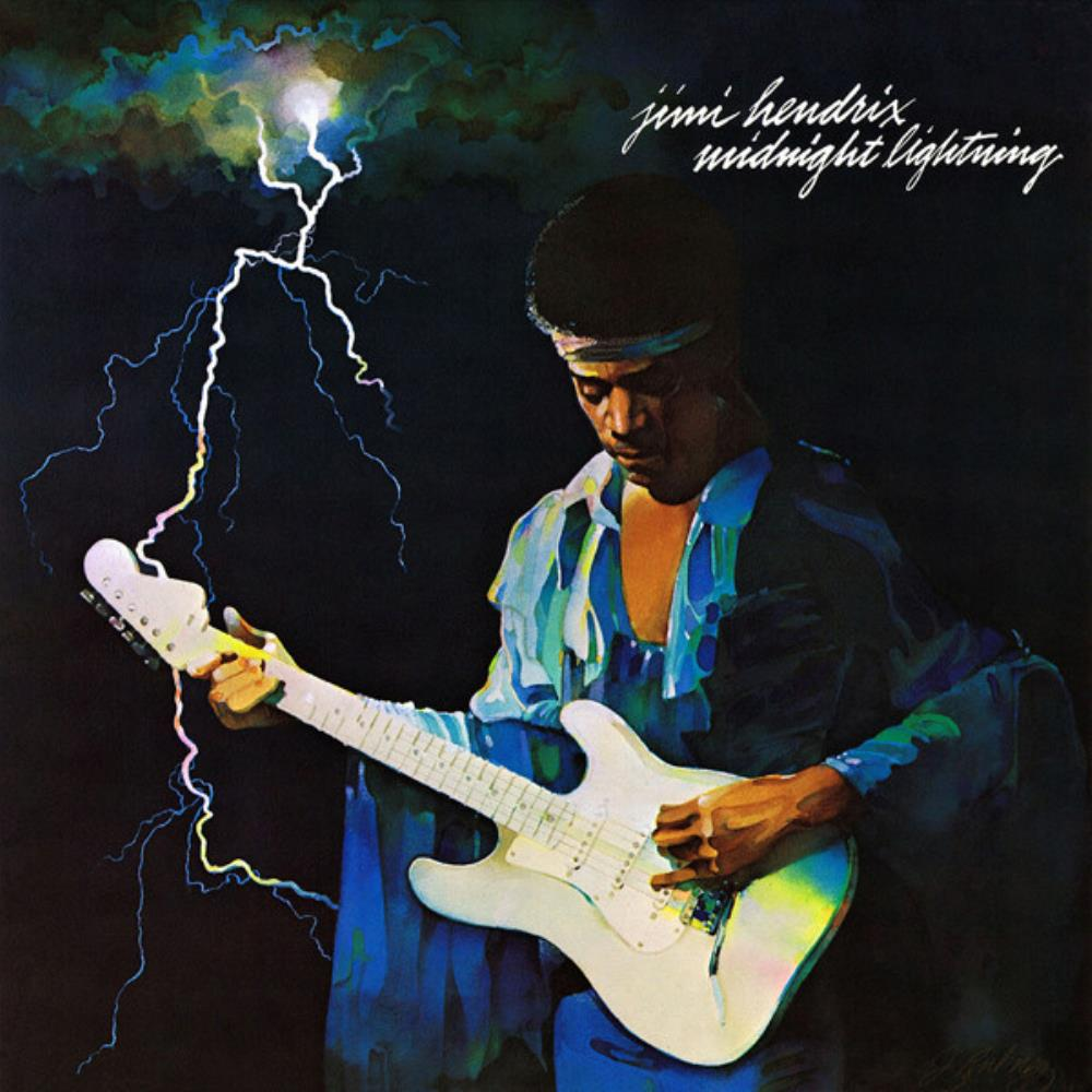 Jimi Hendrix - Midnight Lightning CD (album) cover