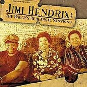 Jimi Hendrix The Baggy's Rehearsal Sessions album cover