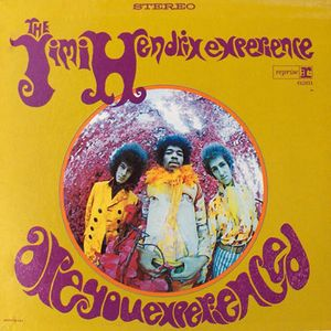 Jimi Hendrix Are You Experienced album cover