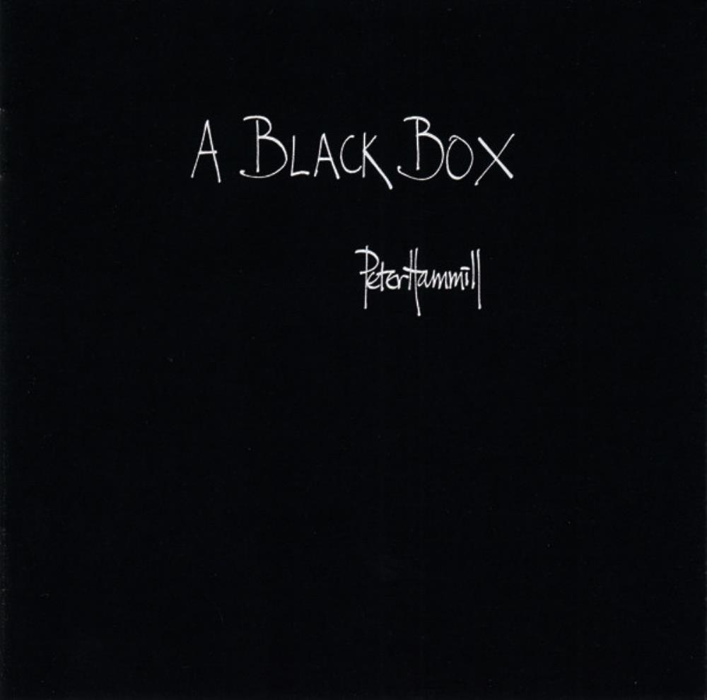 Peter Hammill A Black Box album cover
