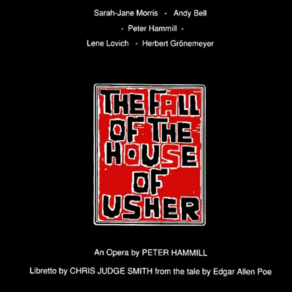 Peter Hammill - The Fall Of The House Of Usher CD (album) cover