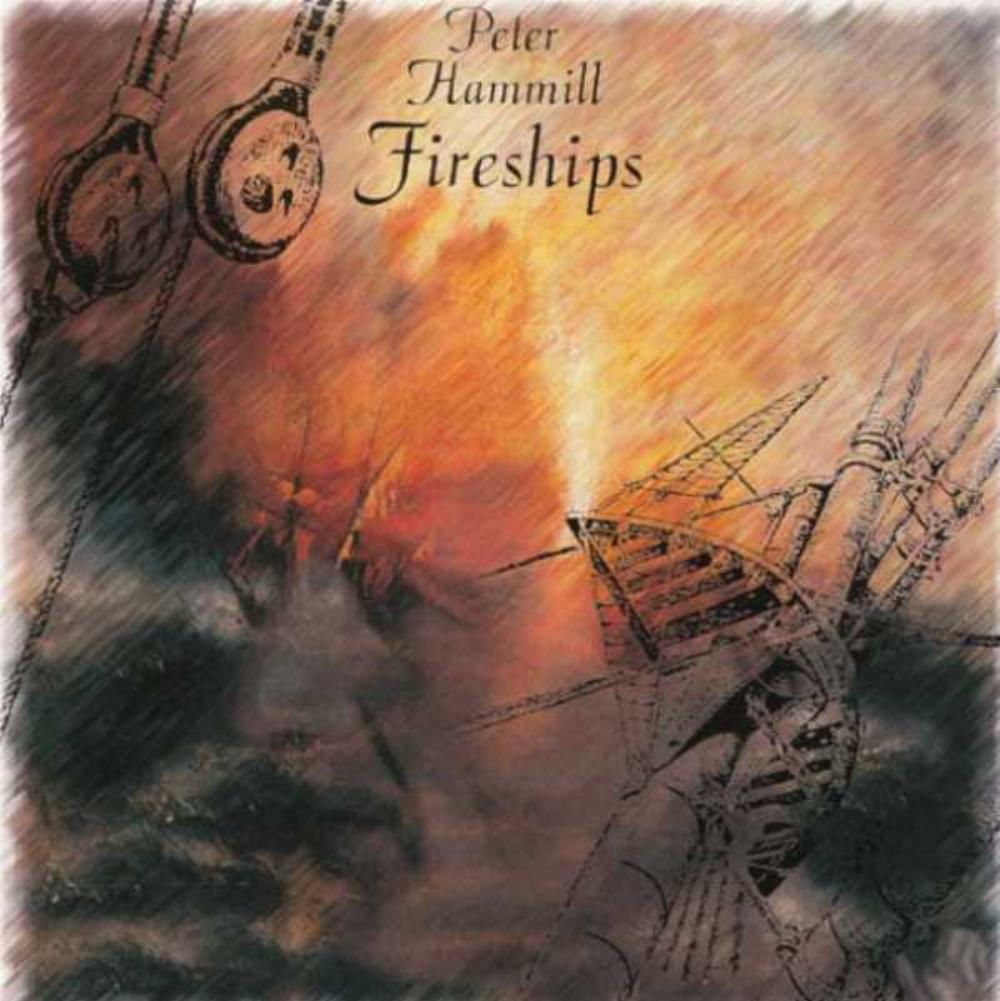 Peter Hammill - Fireships CD (album) cover