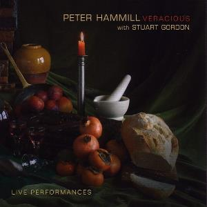 Peter Hammill - Veracious (with Stuart Gordon) CD (album) cover