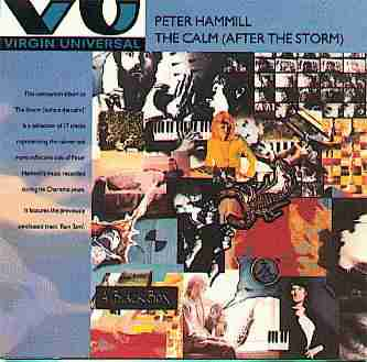 Peter Hammill - The Calm  (After The Storm) CD (album) cover