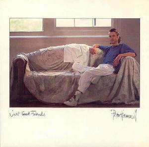 Just Good Friends by HAMMILL, PETER album cover