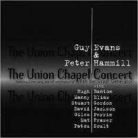 Peter Hammill The Union Chapel Concert (with Guy Evans) album cover