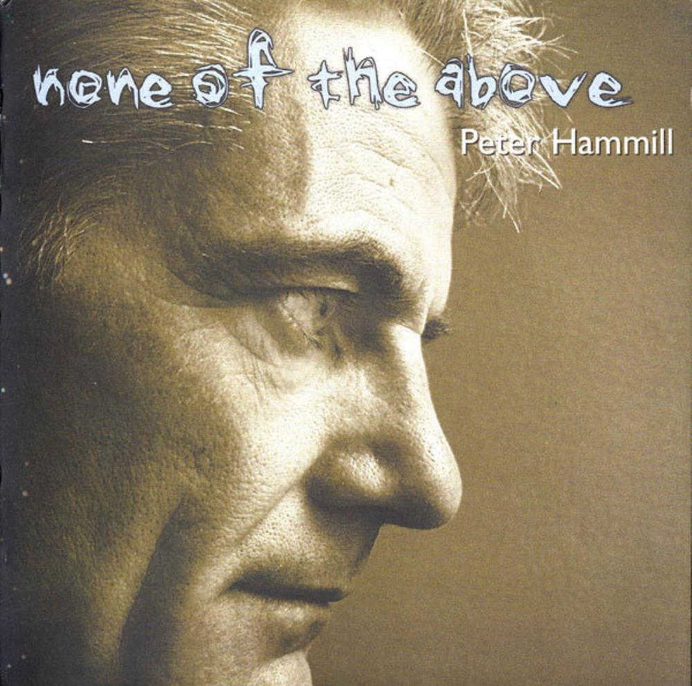 None Of The Above by HAMMILL, PETER album cover