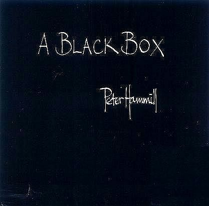 A Black Box by HAMMILL, PETER album cover