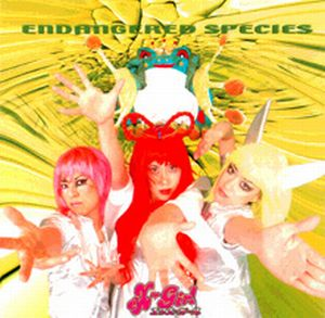 eX-Girl - Endangered Species CD (album) cover