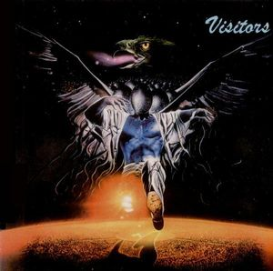 Visitors - Visitors CD (album) cover