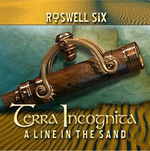Roswell Six - Terra Incognita: A Line in The Sand CD (album) cover