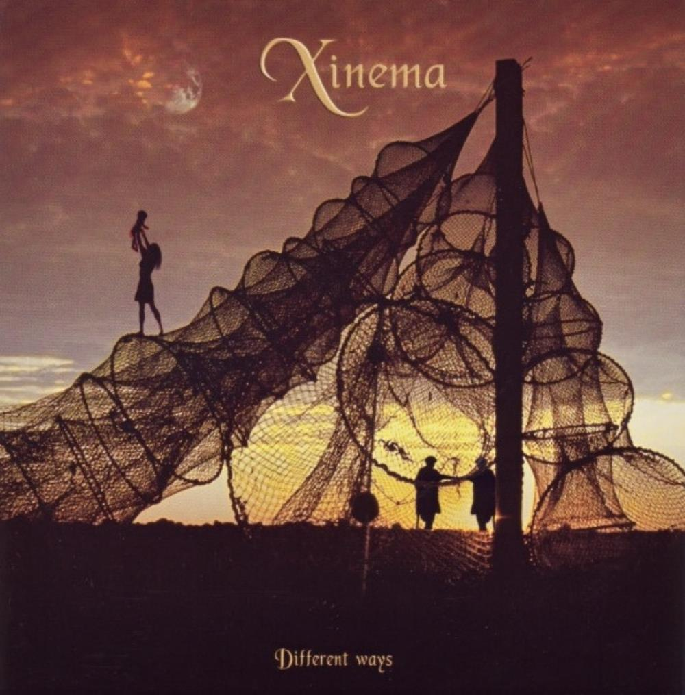 Xinema - Different Ways  CD (album) cover