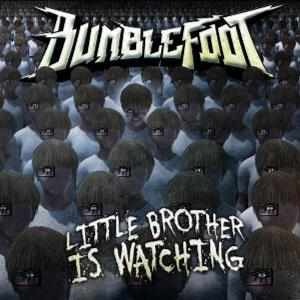 Bumblefoot - Little Brother Is Watching CD (album) cover