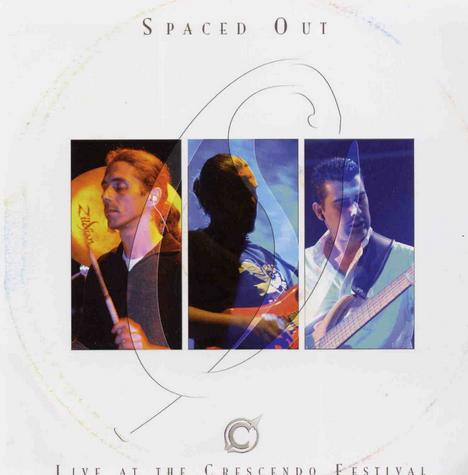 Spaced Out - Live at the Crescendo Festival CD (album) cover