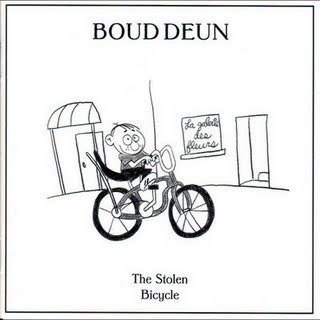 Boud Deun - The Stolen Bicycle CD (album) cover
