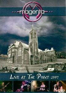 Live At The Point 2007 (DVD) by MAGENTA album cover