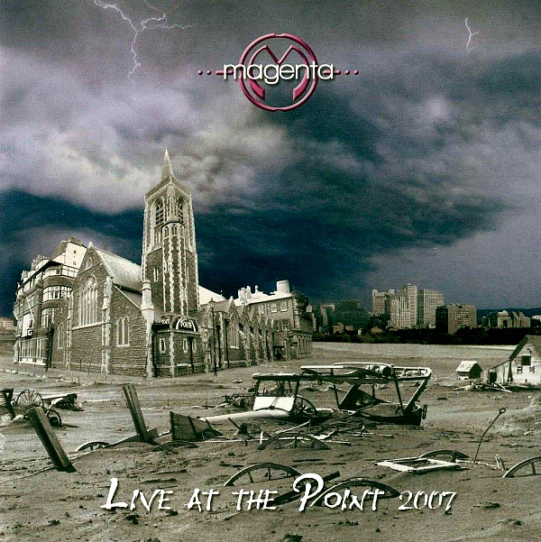 Magenta Live at The Point album cover