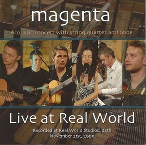 Magenta Live at Real World album cover
