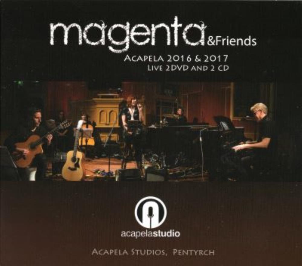Acapela 2016 and 2017 by MAGENTA album cover