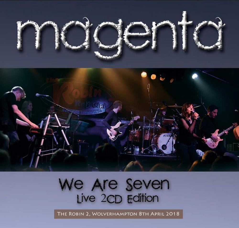 We Are Seven by MAGENTA album cover
