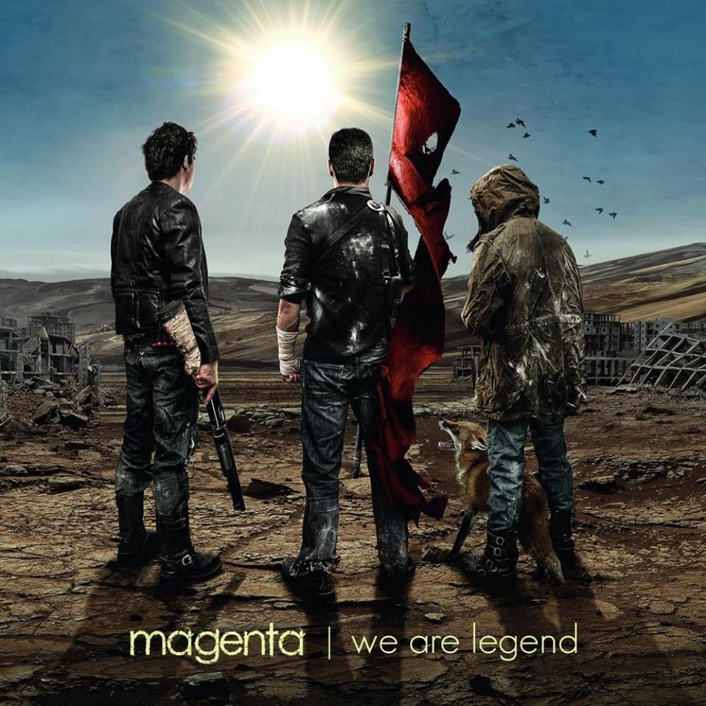 We Are Legend by Magenta album rcover