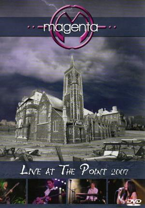 Magenta - Live At The Point 2007 CD (album) cover