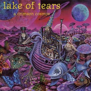 A Crimson Cosmos by LAKE OF TEARS album cover