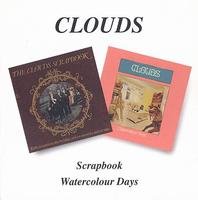 Clouds - Scrapbook/Watercolour Days CD (album) cover