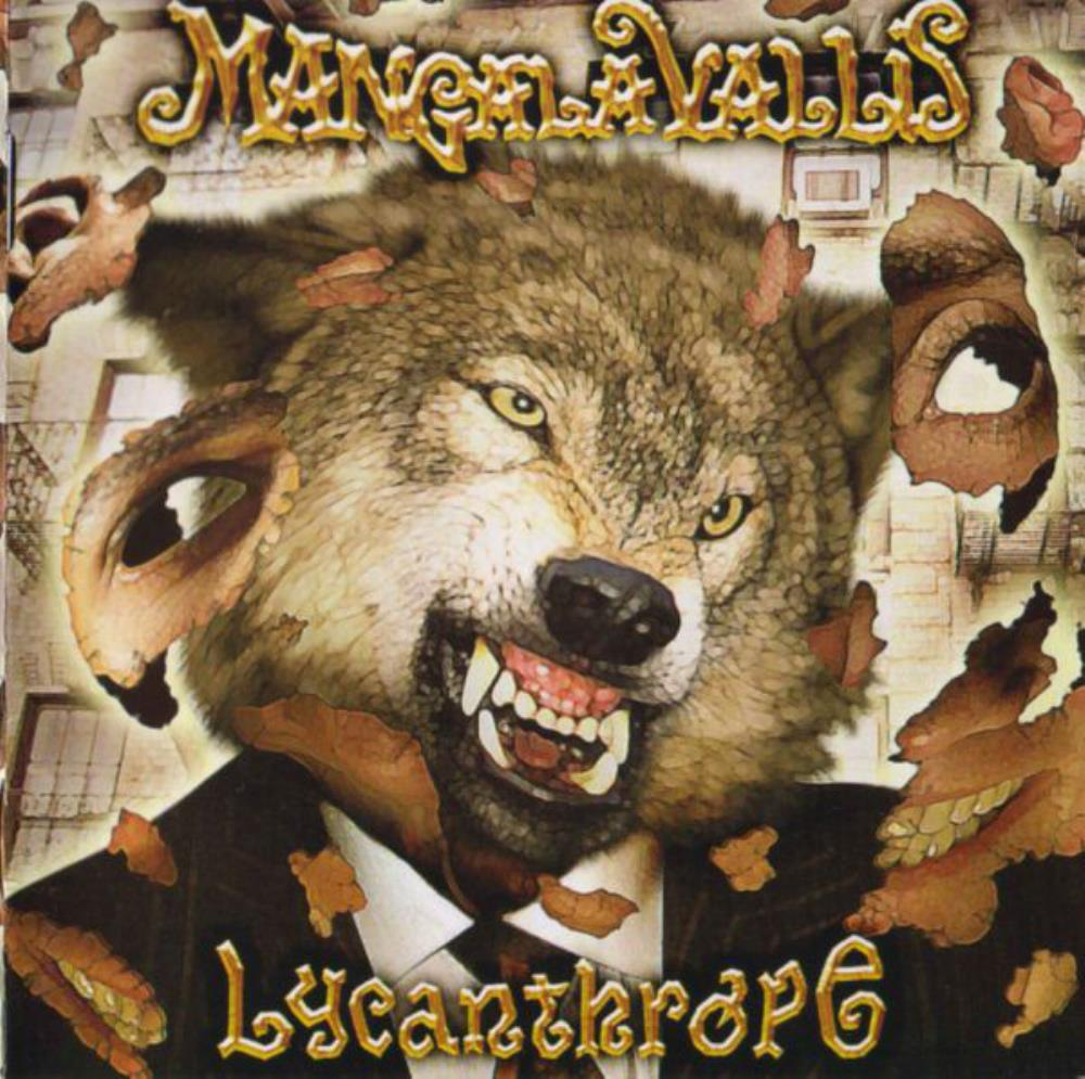 Mangala Vallis - Lycanthrope CD (album) cover
