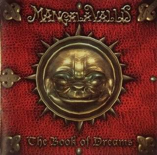 Mangala Vallis - The Book of Dreams CD (album) cover