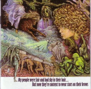 My People Were Fair and Had Sky in Their Hair.. But now they're Content to Wear Stars on Their Brows by TYRANNOSAURUS REX (NOT T. REX) album cover