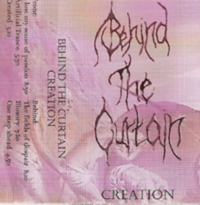 Behind The Curtain Creation album cover