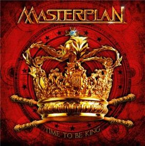 Masterplan - Time to Be King CD (album) cover