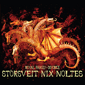 St�rsveit Nix Noltes Royal Family - Divorce album cover